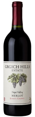 Grgich Hills Estate 2009 Merlot boasts bright strawberry and cherry flavors with a touch of black pepper