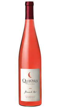 Quivira 2009 Grenache Rose, one of our Top 10 Mother's Day Wines