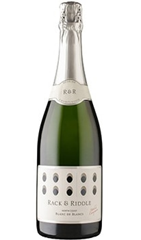 Rack and Riddle North Coast Blanc de Blancs is best enjoyed on its own