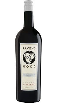 A bottle of Ravenswood Old Vine Zinfandel, one of our Top 10 Mother's Day Wines
