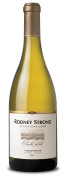 Rodney Strong 2011 Chalk Hill Chardonnay displays a creamy mouthfeel