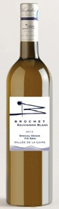 Brochet 2014 Fié Gris has a well-rounded flavor and bracing acidity
