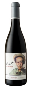 Ernest Vineyards 2014 The Engineer Pinot Noir has a bright berry flavor
