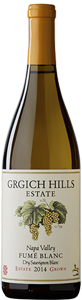 Grgich Hills Estate 2014 Fumé Blanc is made of naturally farmed 100% Sauvignon Blanc grapes