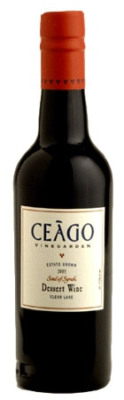 Ceago 2005 Soul of Syrah, one of our Top Organic Wines