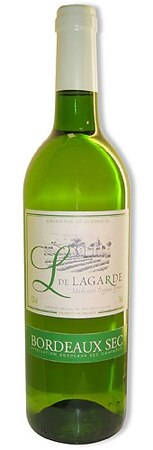 Chateau de Lagarde 2009 Bordeaux Blanc, one of our Top Organic Wines