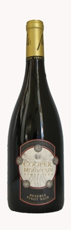 Cooper Mountain Vineyards 2009 Reserve Pinot Noir is one of the best of its type in the nation
