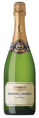 Domaine Carneros 2009 Brut Vintage Cuvee is aged for three years in the bottle before release
