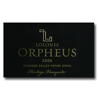 Lolonis is a specialty winery in the Napa Valley, well known for this 2005 Orpheus Petite Sirah