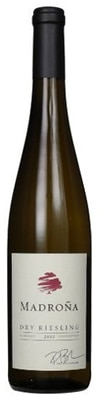 Madrona 2011 Signature Collection Dry Riesling features honey and apple aromas