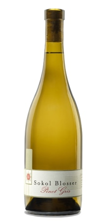 Sokol Blosser 2012 Pinot Gris is organically grown in Oregon's Willamette Valley