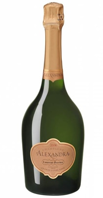Champagne Laurent-Perrier Alexandra 2004 was aged for eight years before release