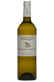 Domaine du Tariquet Premieres Grives is a sweet white wine made from Gros Manseng grapes