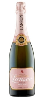 Lanson Brut Rose boasts rose petal aromas and flavors of tart strawberry and redcurrant