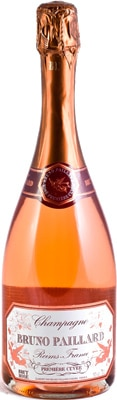 Champagne Bruno Paillard Rose Premiere Cuvee is aged for three years before disgorgement