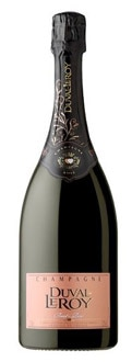 Champagne Duval Leroy Brut Rose displays cherry, fig and floral aromas