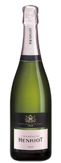 Champagne Henriot Brut Rose pairs well with tuna tartare and smoked duck and is one of GAYOT.com's Top Rose Champagnes