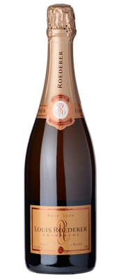 Champagne Louis Roederer 2008 Brut Rose is composed of 66 percent Pinot Noir and 34 percent Chardonnay