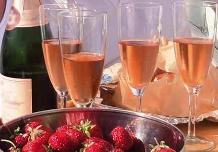 For the best pink bubbly, take a look at GAYOT's Top 10 Rose Champagnes