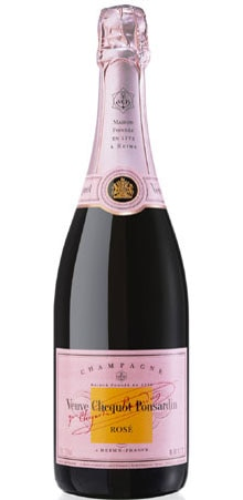 The Veuve Clicquot Rose is perfect for a romantic celebration