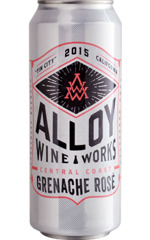 Field Recordings 2015 Alloy Grenache Rosé has flavors of strawberry and Sour Patch Kids