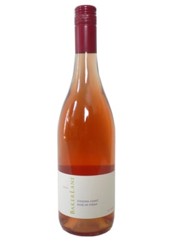 Baker Lane 2010 Rose of Syrah, one of our Top Rosés