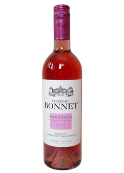 Chateau Bonnet 2010 Merlot/Cabernet Sauvignon Rosé, one of our Top 10 Rosés