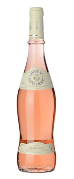 Château Saint Pierre 2015 Tradition Rosé has flavors of peach and strawberry