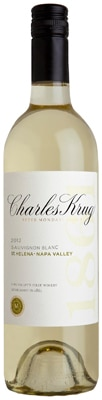 Charles Krug 2012 St. Helena Sauvignon Blanc is a fresh and food-friendly wine