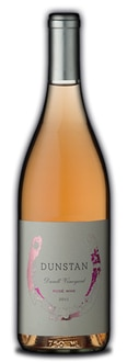 Dunstan Wines 2011 Rose of Pinot Noir is made from acclaimed Durell Vineyard fruit