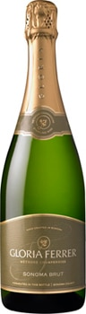 Gloria Ferrer Sonoma Brut imparts complex fruit flavor and a toasty finish