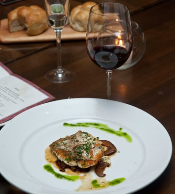 Numanthia 2009 Termes paired with crisply-grilled red snapper at STK restaurant in West Hollywood