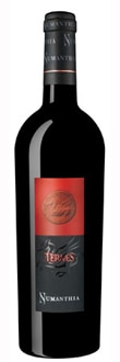 Numanthia 2009 Termes displays earthy aromas of fig, plum, licorice and dark chocolate
