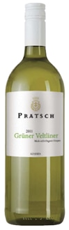 Biohof Pratsch 2011 Grüner Veltliner displays a fragrant bouquet of apple, peach and apricot