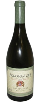 Sonoma-Loeb 2010 Private Reserve Chardonnay boasts mouthfilling pear and pineapple flavors