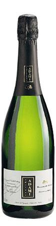 A bottle of Adami 2009 Vigneto Giardino Dry Prosecco di Valdobbiadene Superiore
