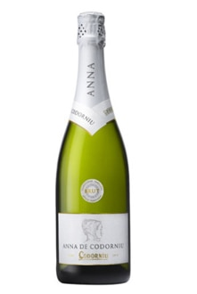 Anna de Codorniu Brut, one of our Top 10 Sparkling Wines 2011, offers crisp citrus and floral aromas and a good balance of acidity and sweetness in the mouth