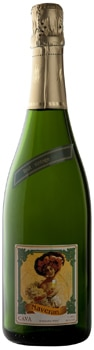 The Bodegas Naveran 2010 Brut Cava is great for the beginning, middle or end of a meal