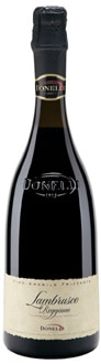 One of our Top 10 Sparkling Wines 2011, Donelli Lambrusco Reggiano Amabile DOC offers sweet red berry flavors and a balanced acidity