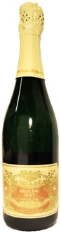 Fitz-Ritter Riesling Extra Trocken Sekt NV is easy-drinkin