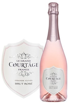 Le Grand Courtage Brut Rose, one of GAYOT's Top 10 Sparkling Wines of 2012