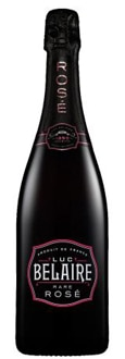 Luc Belaire Rose is made via the Charmat method, blending Syrah, Grenache and Cinsault