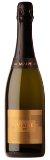 Maipe Sparkling Brut, one of our Top 10 Sparkling Wines, is both food-friendly and great on its own