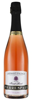 Pierre Sparr Crémant d'Alsace Brut Rosé offers lively acidity with a round and fruity taste