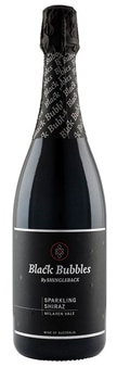 Chewy tannins, mild sweetness and lively acidity balance well for the Shingleback Black Bubbles Sparkling Shiraz