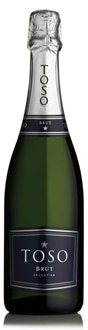 Toso Brut, one of our Top 10 Sparkling Wines 2011, is made entirely from Chardonnay grapes grown in the Mendoza wine region of Argentina