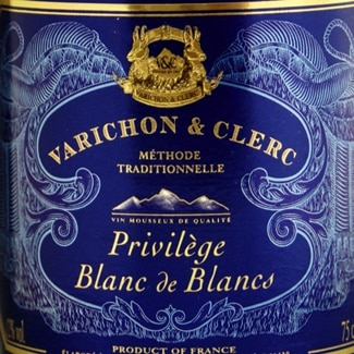 Varichon and Clerc is made from a mixture of Chardonnay, Chenin, Ugni Blanc and Colombard grapes in the methode traditionnelle