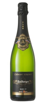 Wolfberger Cremant d'Alsace Brut, one of our Top 10 Sparkling Wines, is a great special occasion wine