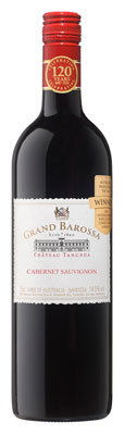 Château Tanunda 2010 Grand Barossa Cabernet Sauvignon displays flavors of blackberry, chocolate and mint