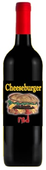 Rootstock Cellars Cheeseburger Red is a blend of Petite Sirah, Barbera and Syrah